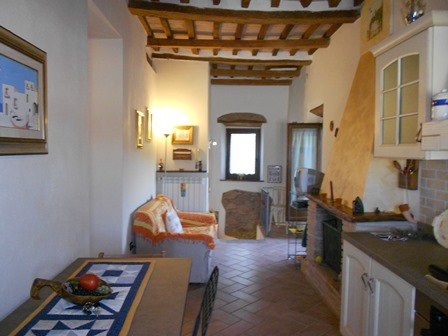 NEW - Apartment in the centre of Roccatederighi for sale