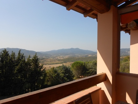 NEW - Panoramic 2 bedroom apartment for sale in Giuncarico